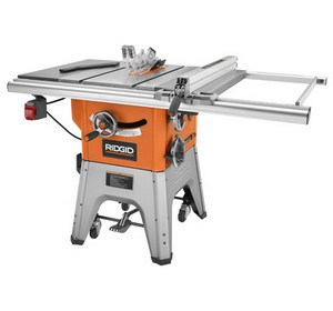 side by side comparison for ridgid r4513 table saw vs