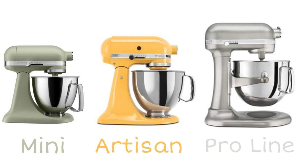 Kitchenaid Stand Mixer Models Comparison Compareappliances Biz
